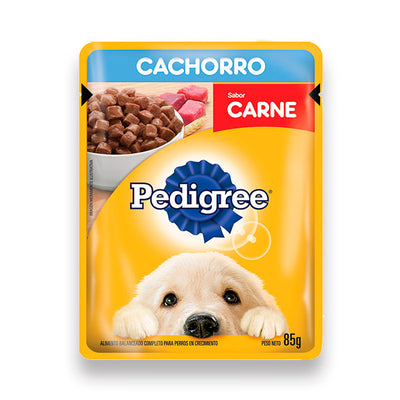 SOBRECITOS CACHORRO CARNE PEDIGREE 85G