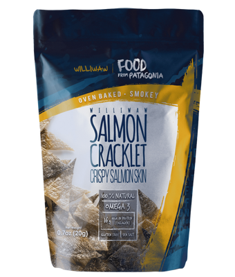 SALMON CRACKLET SMOKEY WILLIWAW20 G