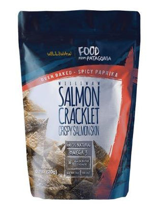 SALMON CRACKLET SPICY WILLIWAW 20 G