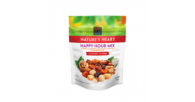 HAPPY HOUR MIX SOFTPACK 150G NATURE´S HEART