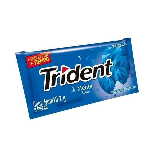TRIDENT BASE PEPPERMINT 10,2G