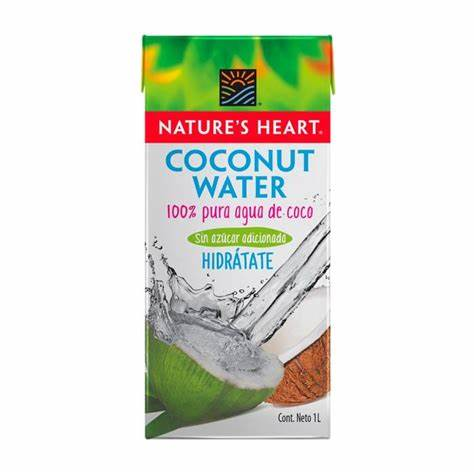 AGUA DE COCO NATURE HEART 1L