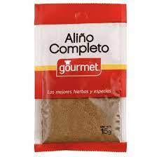 ALIÑO COMPLETO 15 G GOURMET
