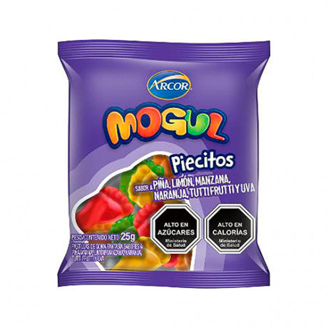 MOGUL PIECITOS 25 G
