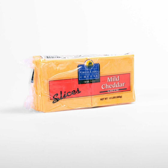 QUESO CHEDDAR LAMINADO GREAT LAKE 680 Gr