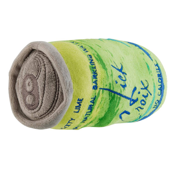 LickCroix Lickety Lime Barkling Water Dog Toy