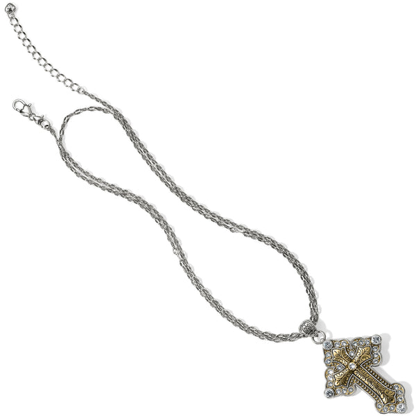 Greek Large Convertible Cross Necklace