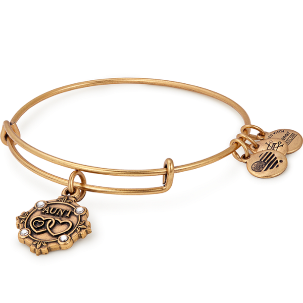 Aunt Because I Love You Charm Bangle