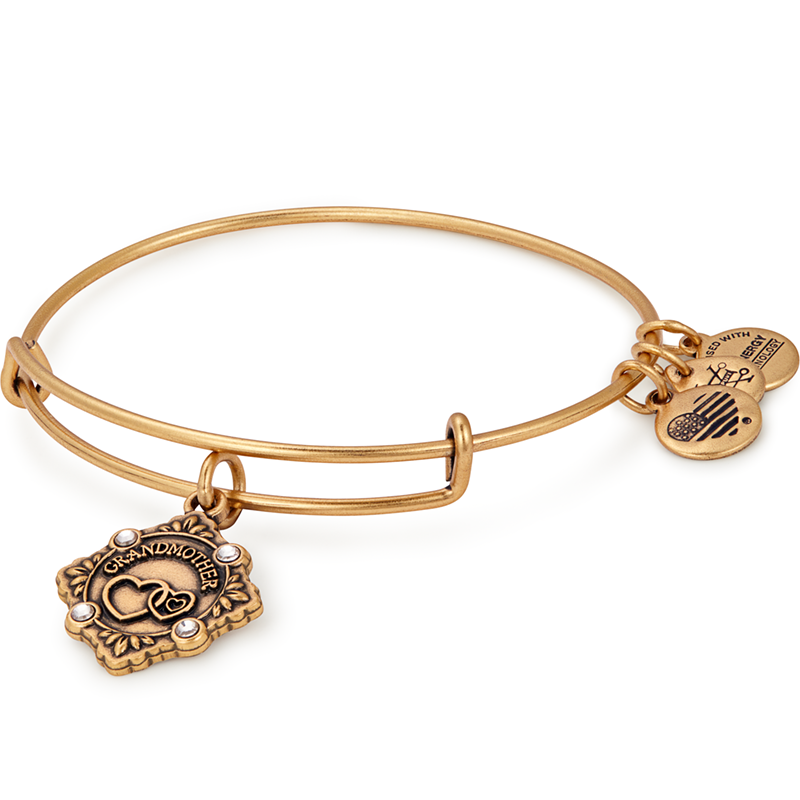 Grandmother Because I Love You Charm Bangle