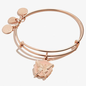 Butterfly Charm Bangle
