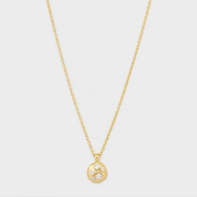 Collette Circle Adjustable Necklace