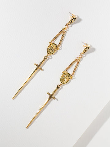 The Amparo Rosary Earrings