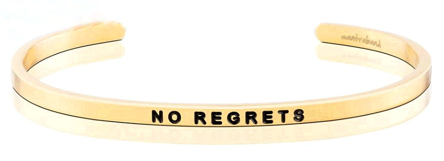 No Regrets Bracelet