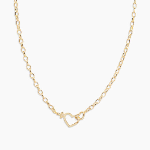 Parker Heart Necklace