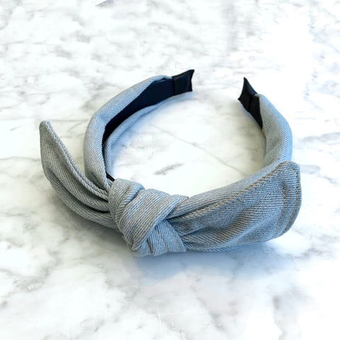 Phoebe Denim Headband