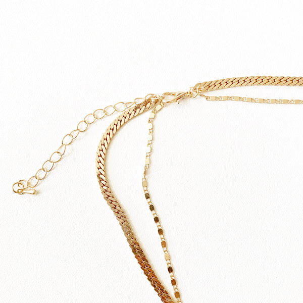 Demi Double Layered Necklace
