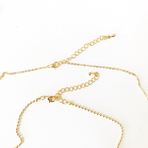 Amelia Double Layered Necklace