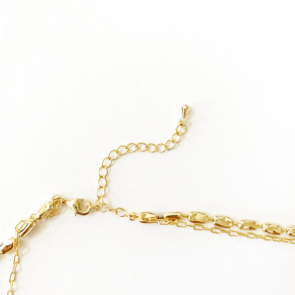 Ava Double Layered Necklace