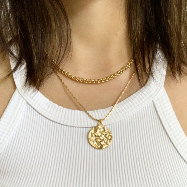 Brinley Double Layered Necklace