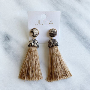 Jules Tassel Earrings