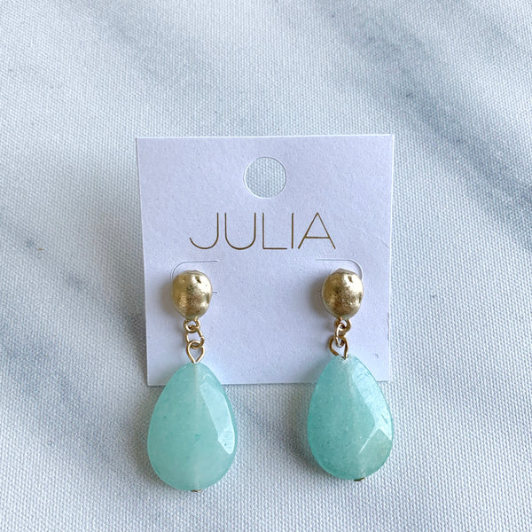 Fleur Stone Earrings