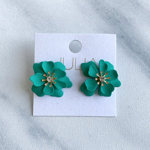 Rhonda Flower Earrings