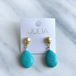 Yarra Stone Accent Earrings