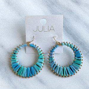 Lilo Thread Accent Hoops