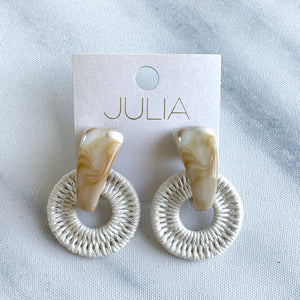 Kia Acrylic Thread Accent Earrings