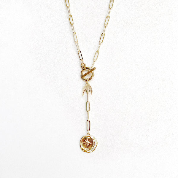 Moon and Star Lariat