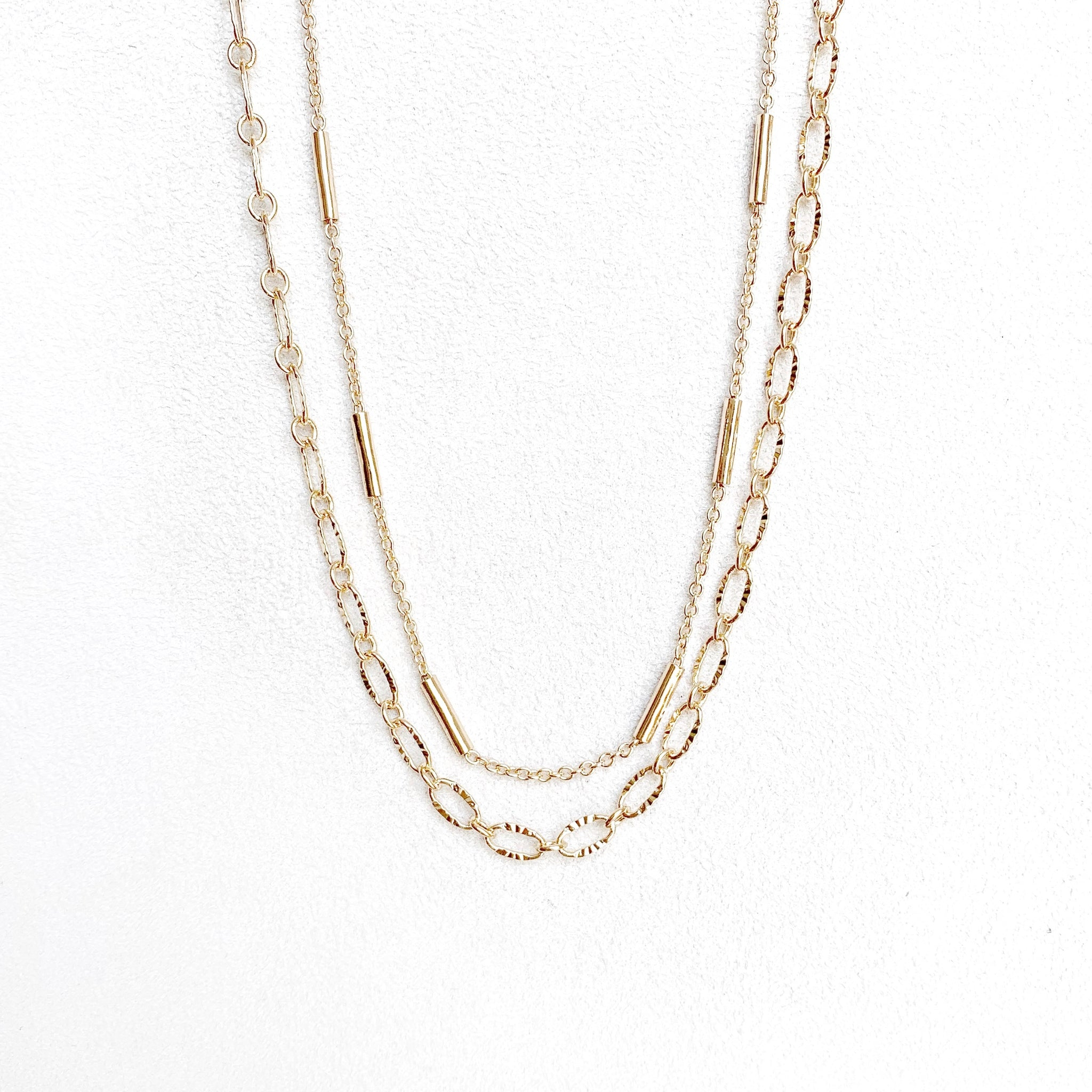 Presley Pre-Layered Chain Necklace