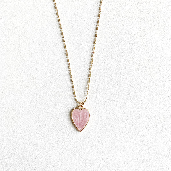 Cherie Heart Necklace