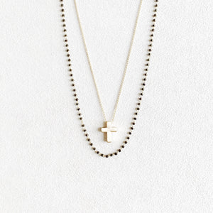 Blair Layered Cross Necklace