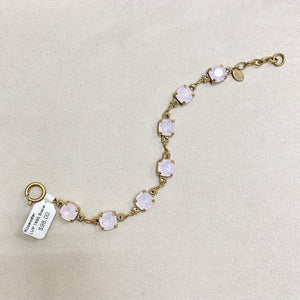 10mm Crystal Bracelet in Rose Water