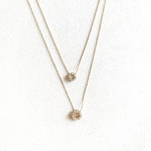 Reeve Double Drop Necklace