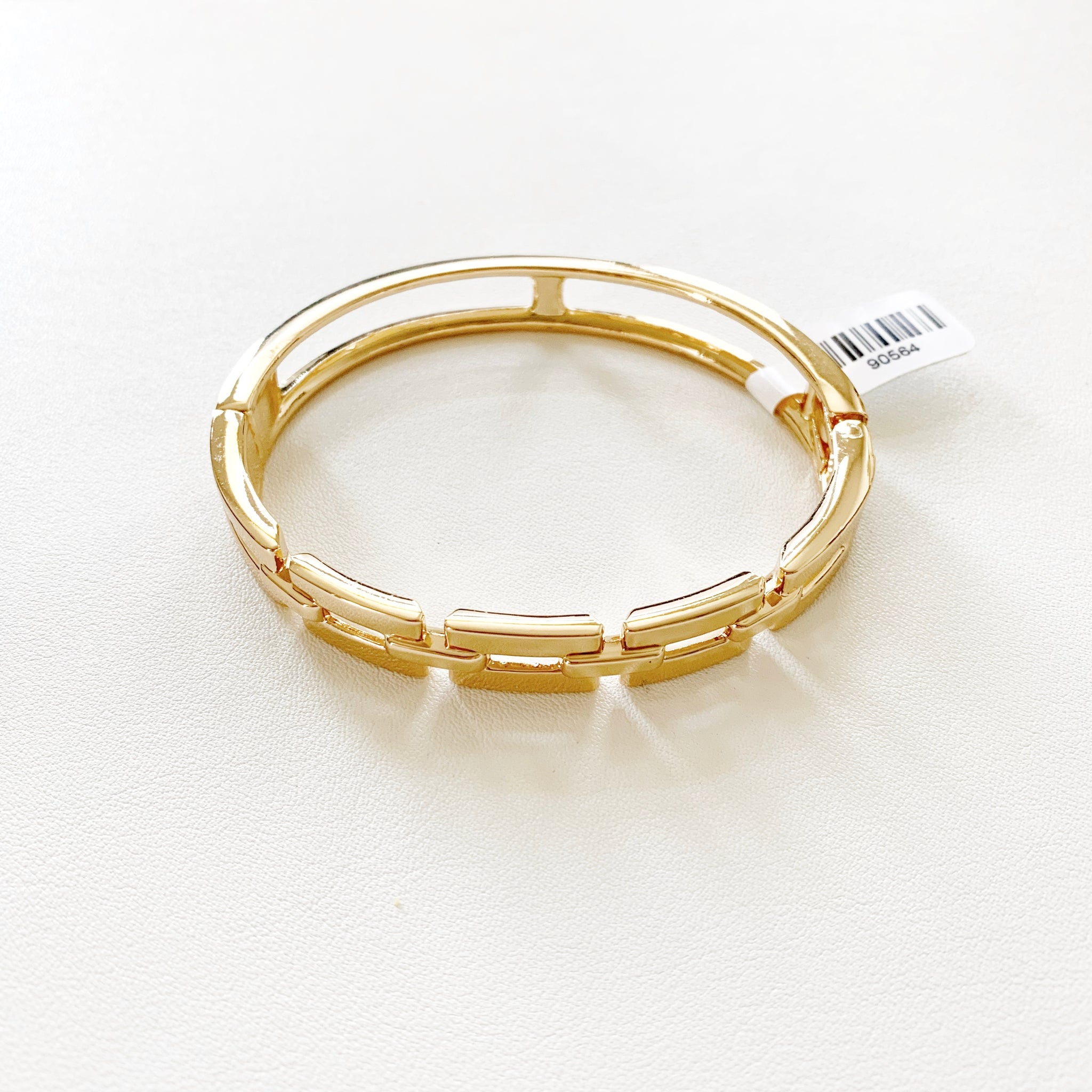 Melania Hinged Bangle