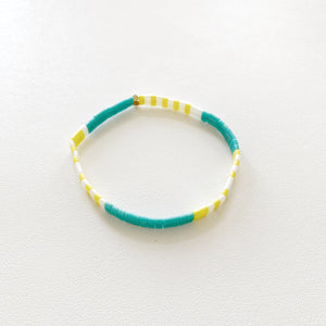 Maude Bracelet in Teal Mix