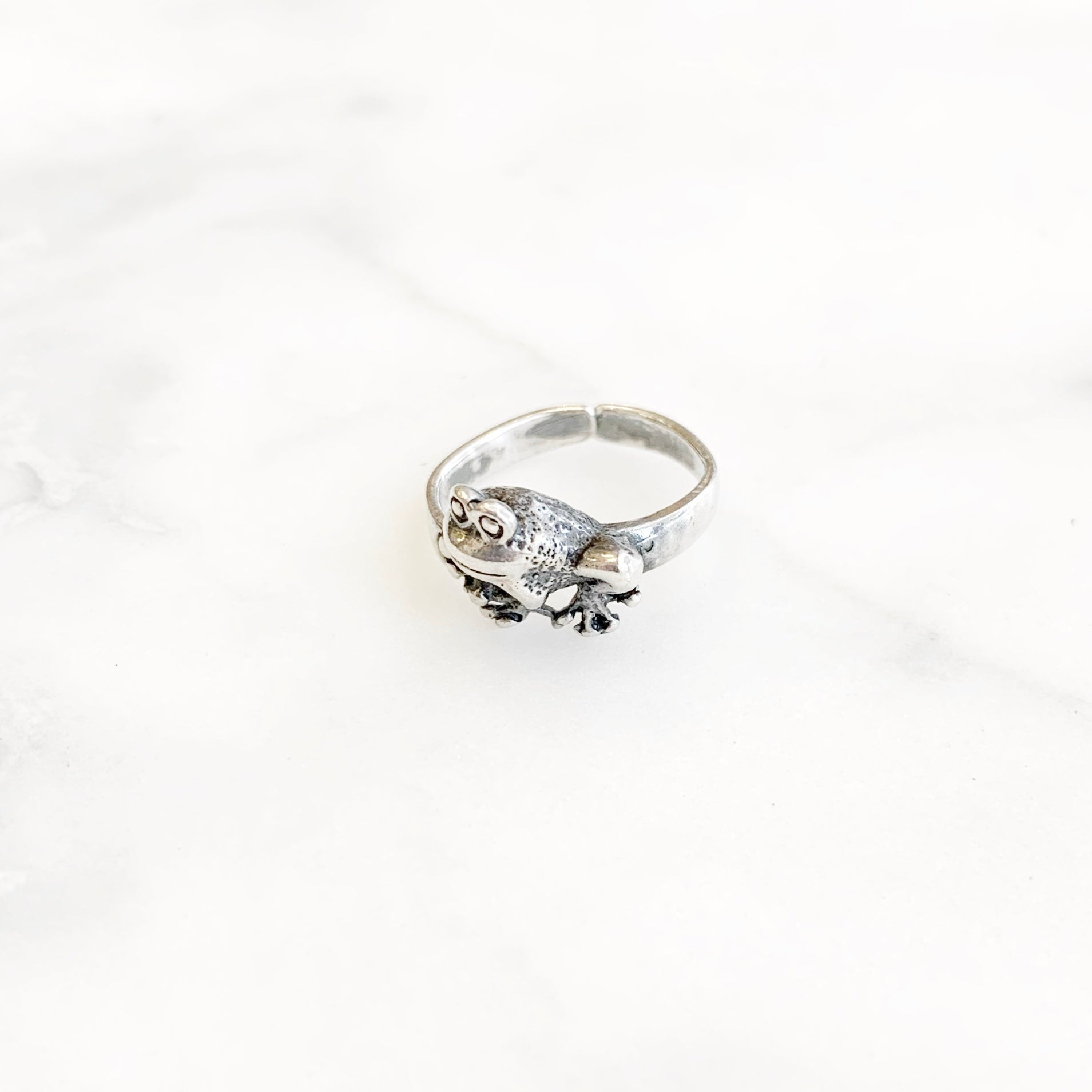 Sterling Silver Liza Toe Ring
