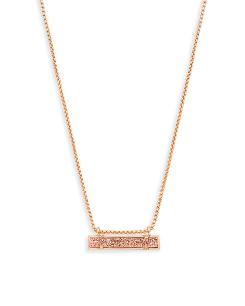 Leanor Rose Gold Pendant Necklace