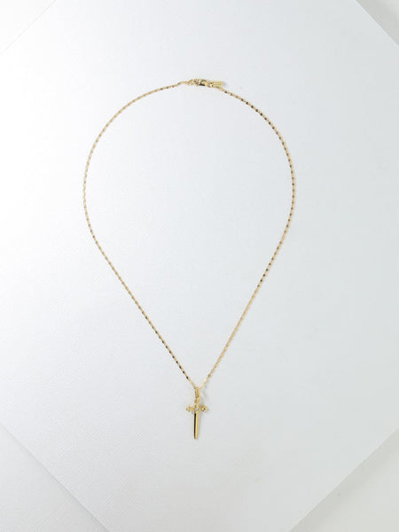 The Alexandra Necklace in Gold