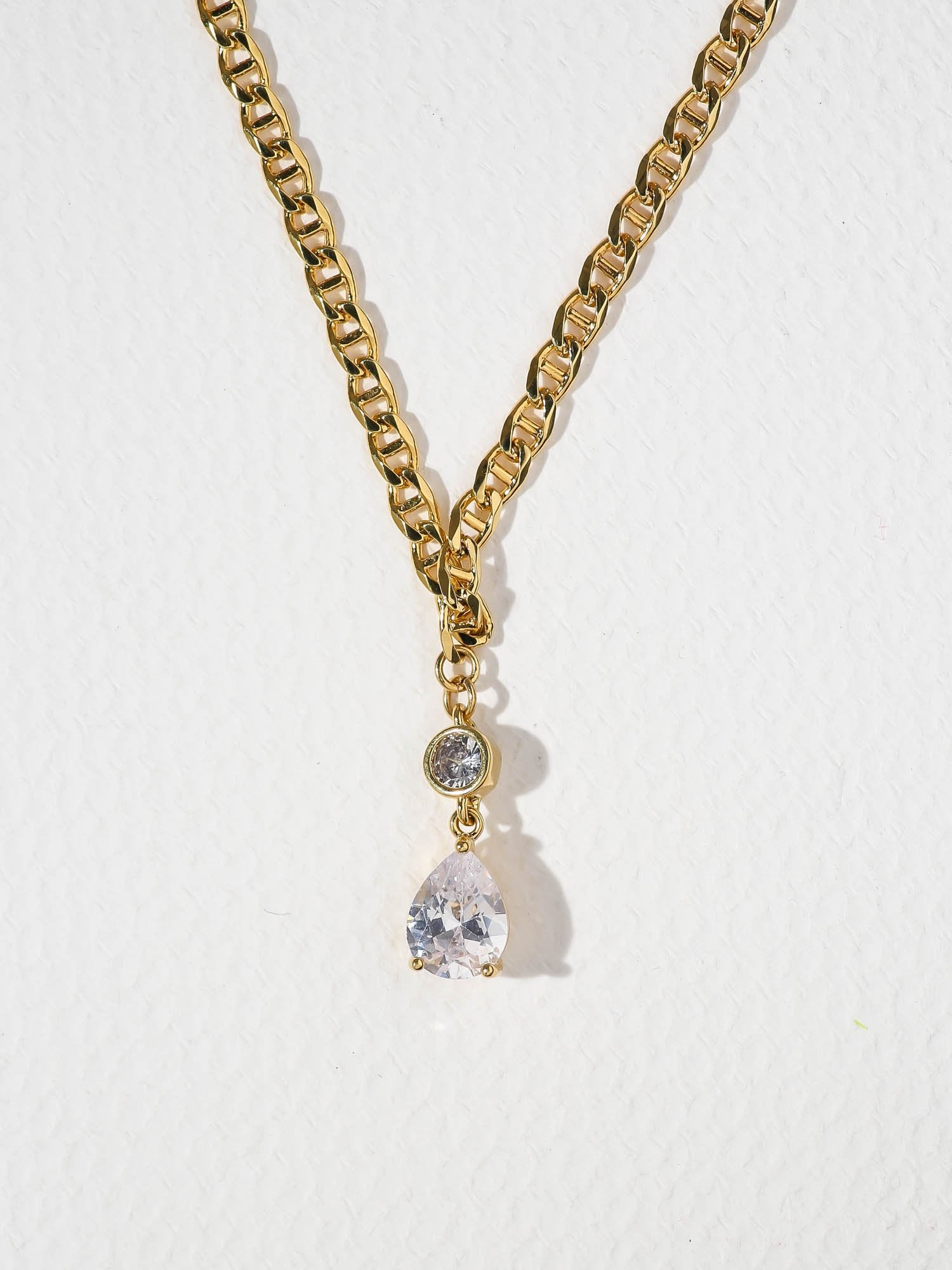 Crystal Dia Necklace