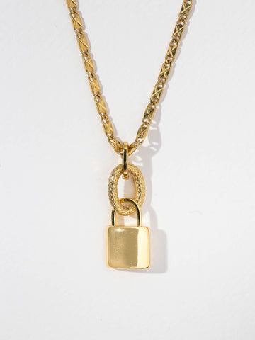 THE LOCK NECKLACE