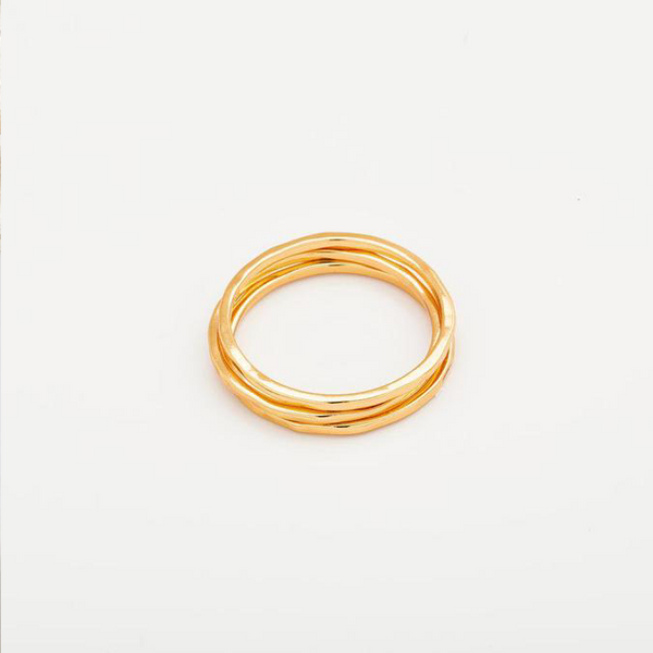 G Ring Set in Gold
