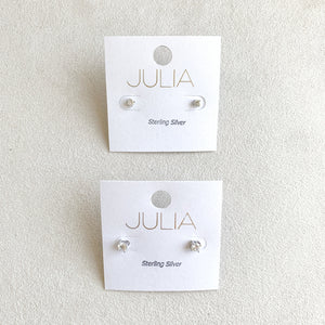 Sterling Silver Studs (3mm and 4mm)