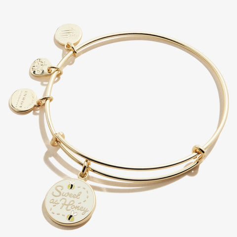 Sweet as Honey Color Infusion Charm Bangle