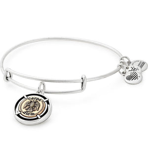 Carpe Diem Charm Bangle