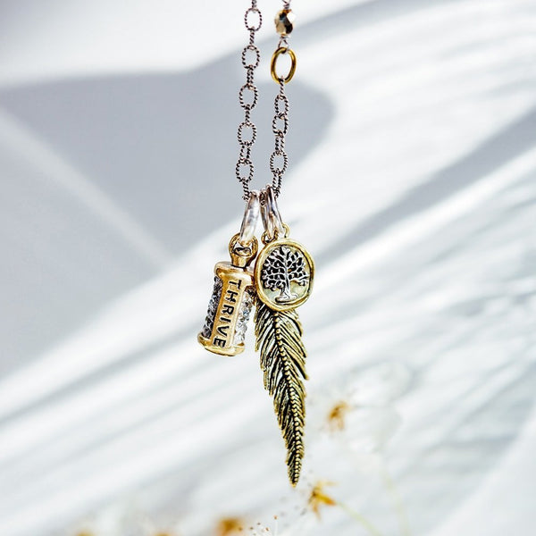 Light as a Feather Pendant