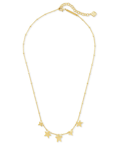 Jae Star Choker Necklace In Gold