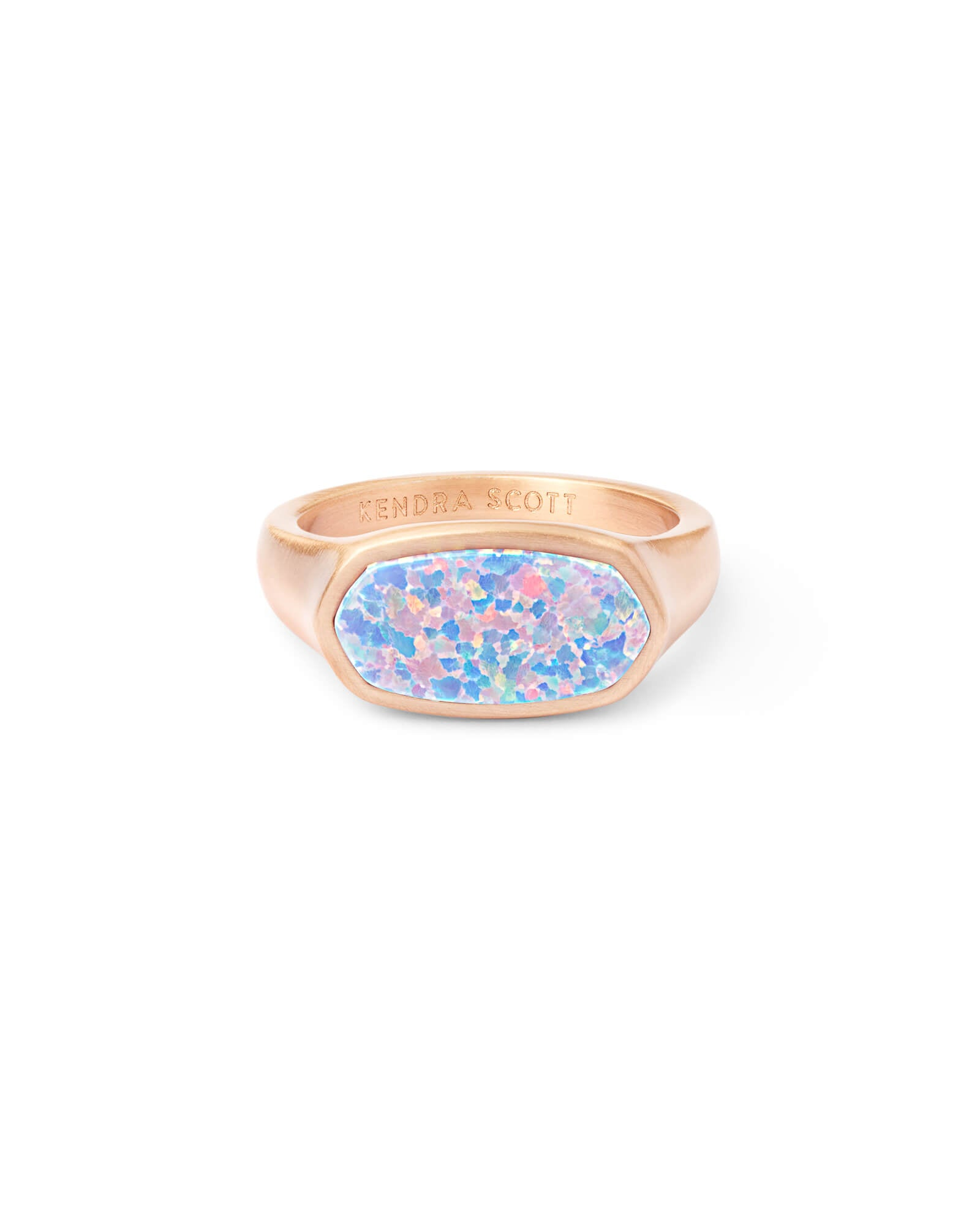 Mel Rose Cocktail Ring in Rose Gold