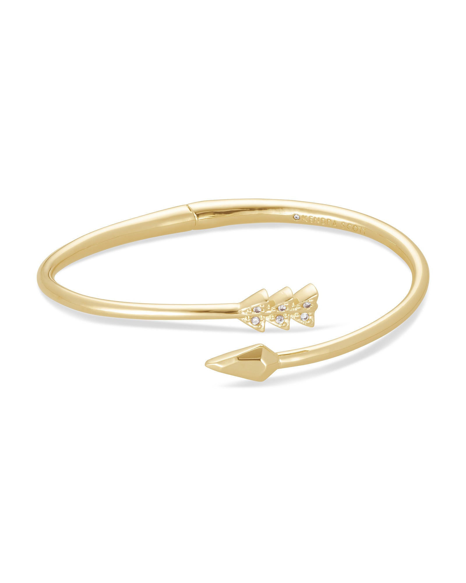 Zoey Gold Bangle Bracelet